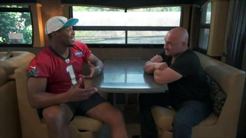 Cam Newton 1-on-1 with Jay Glazer - Web Exclusive
