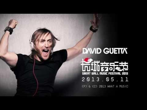David Guetta - Great Wall Show Documentary