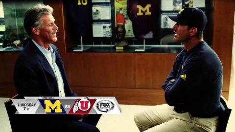 Jim Harbaugh credits his father for his competitiveness