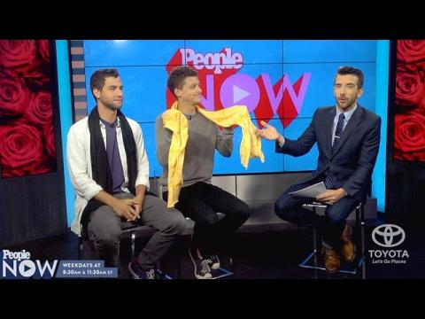 """The Bachelor Dudes"" are making Chris ""Cupcake"" crying scarves a summer trend! 