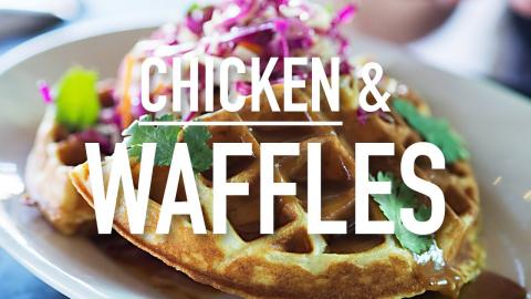American Chicken and Waffles #LostandHungry