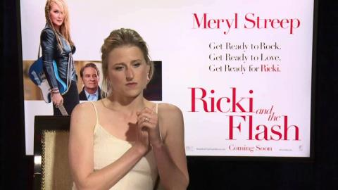 Ricki and the Flash: Mamie Gummer working with Meryl Streep