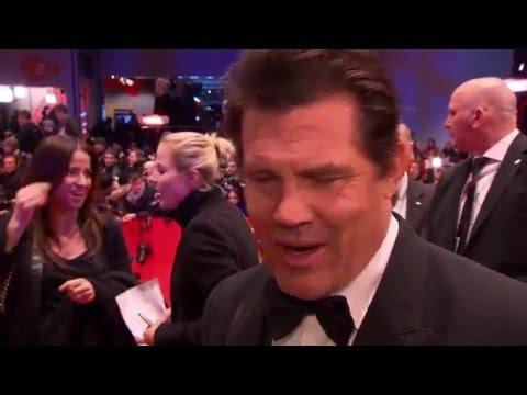 Midnight Special: Josh Brolin Official Interview Berlinale Film Festival (2016)