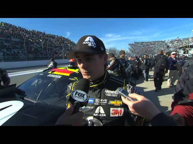 Late Speeding Penalty Ruins Jeff Gordon's Day at Martinsville - 2015 NASCAR Sprint Cup