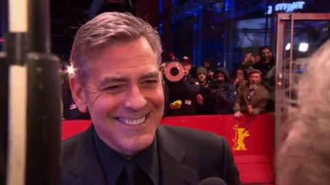 Hail, Caesar!: George Clooney Official Interview Berlinale Film Festival (2016)