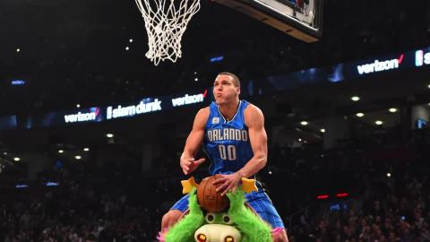 Aaron Gordon's frame-by-frame slam at the NBA Dunk Contest