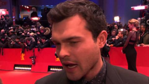 Hail, Caesar!: Alden Ehrenreich Official Interview Berlinale Film Festival (2016)