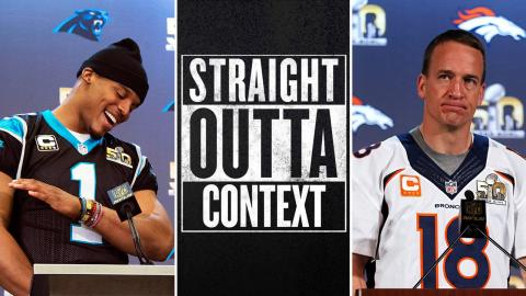 Straight Outta Context: Peyton Manning vs. Cam Newton | Super Bowl 50