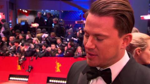 Hail, Caesar!:Channing Tatum Official Interview Berlinale Film Festival (2016)