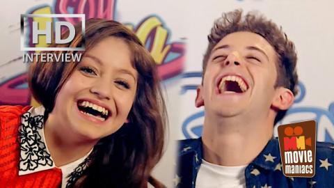 Soy Luna - Luna & Matteo - Karol Sevilla & Ruggero Pasquarelli - entrevista exclusiva